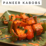 Easy Keto Recipes Indian Paneer Kabobs Recipe