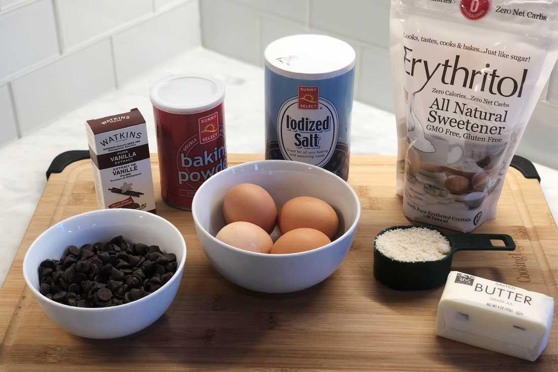keto chocolate chip cookies ingredients