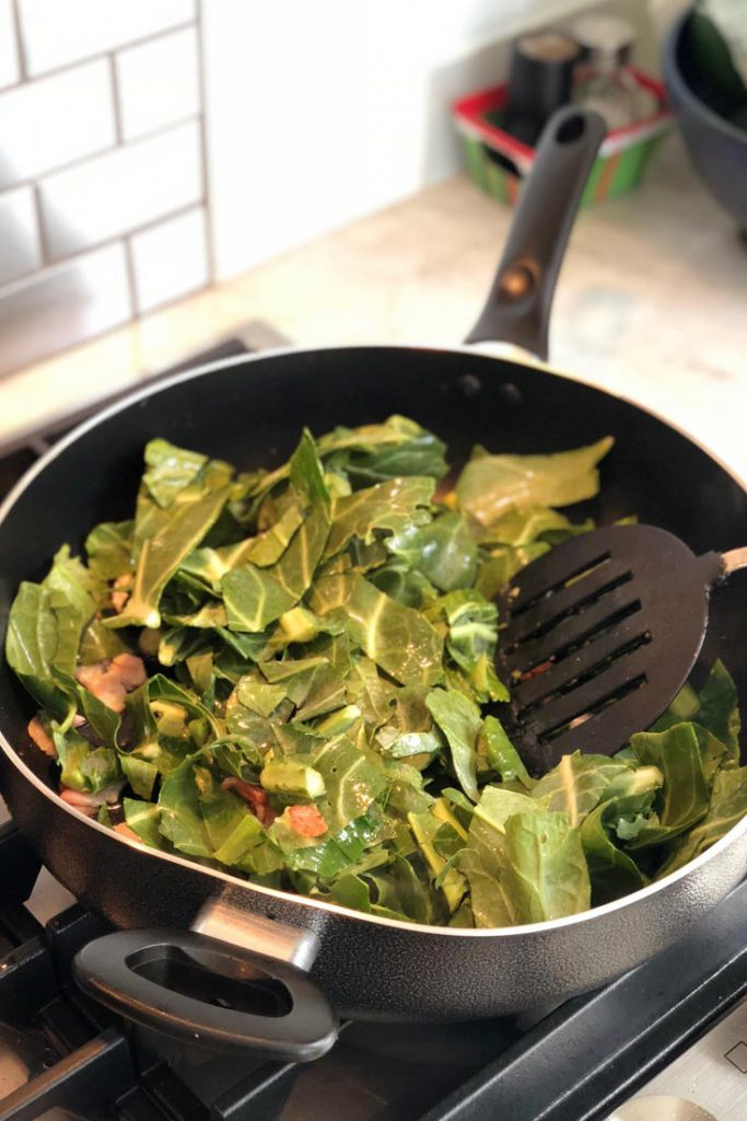 keto collard greens recipe step 2