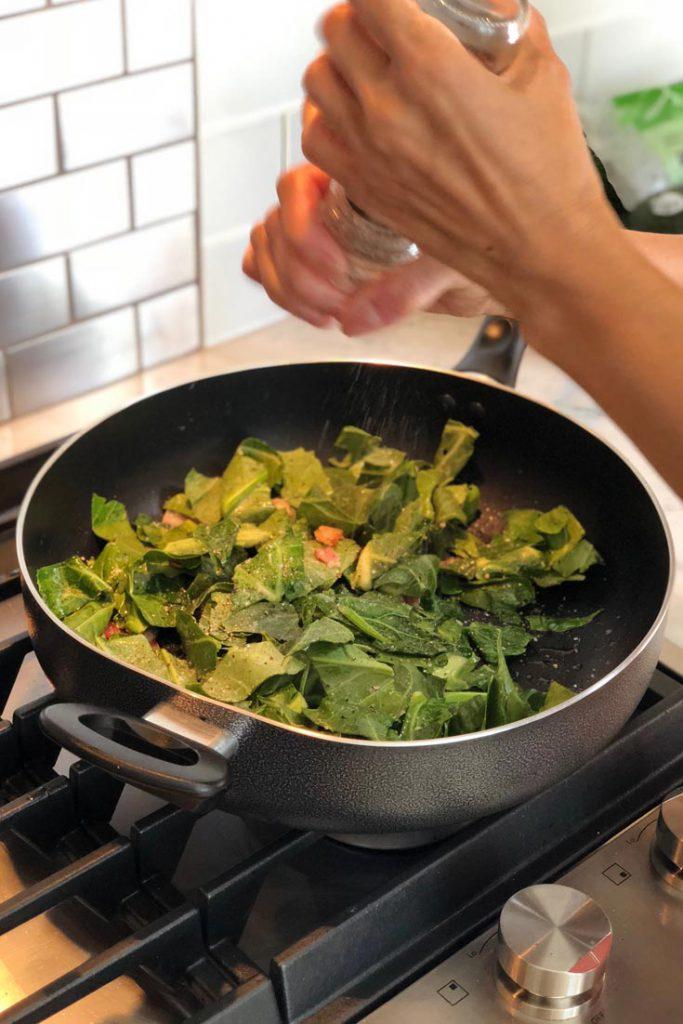 keto collard greens recipe step 3